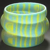 Lily Yung: Hong Kong 1947 – Toronto 2010. Trivoid  bracelet. 2008. Synthetic resin