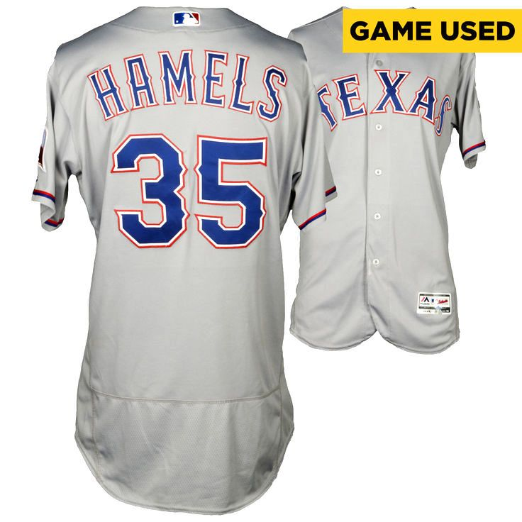 Cole Hamels Texas Rangers Fanatics Authentic Game-Used Gray #35 Jersey vs New York Yankees on June 28, 2016 - $1599.99