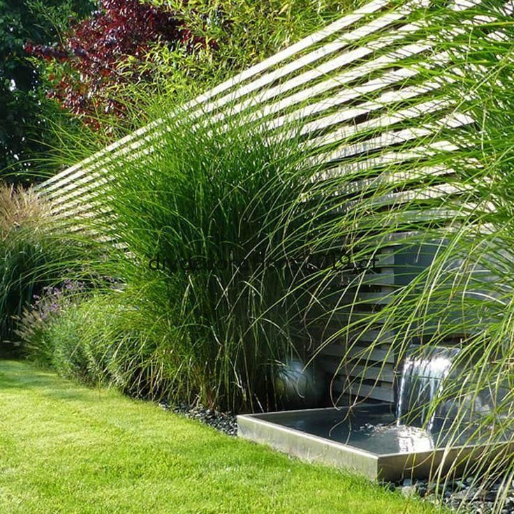 Jardin Prive Fam Ch Jardin Moderne De Begrunder Decoration