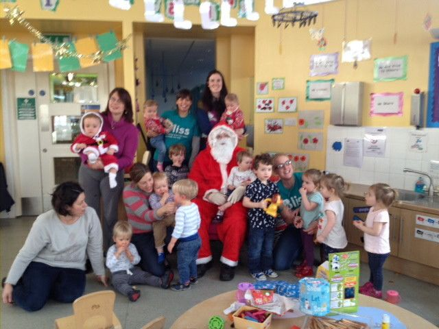 Bliss family support group get a visit from Santa