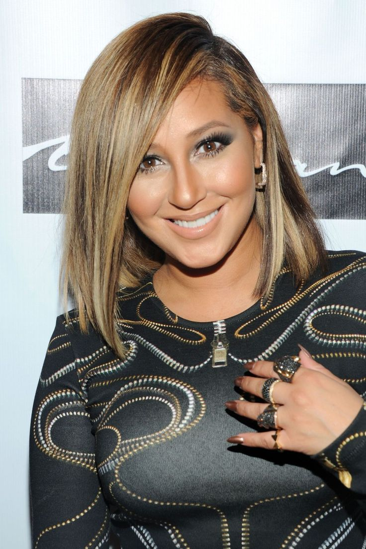 Lisa ann before plastic surgery short hairstyle 2013 - Adrienne Bailon At Coleman S Single Release Party In New York 1 Adrienne Bailon Plastic Surgery