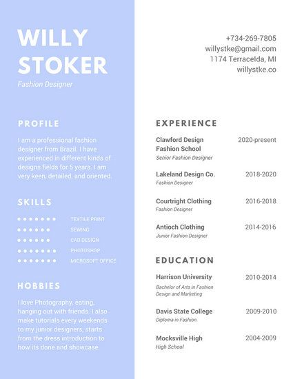 Best Cv Images On   Free Stencils Resume Templates