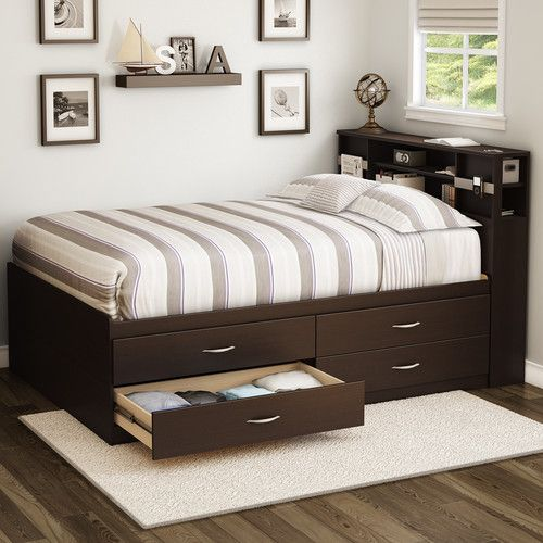 1000 ideas about bookcase bed on pinterest captains bed bookcases and bookcase headboard. Black Bedroom Furniture Sets. Home Design Ideas