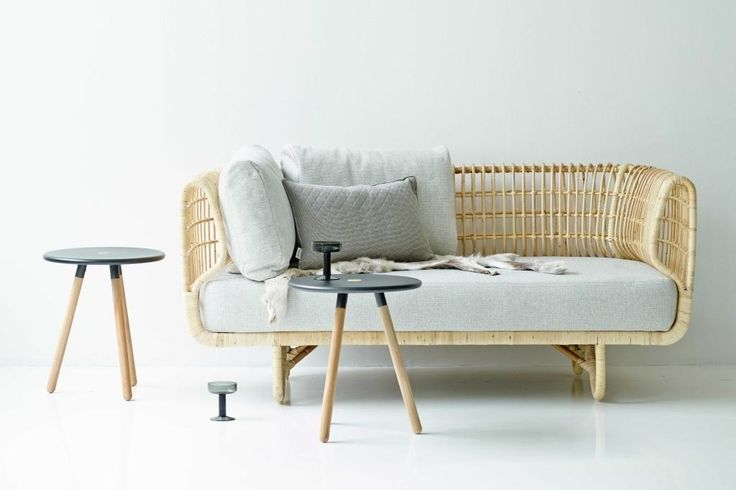 NEST sofa rattanowa