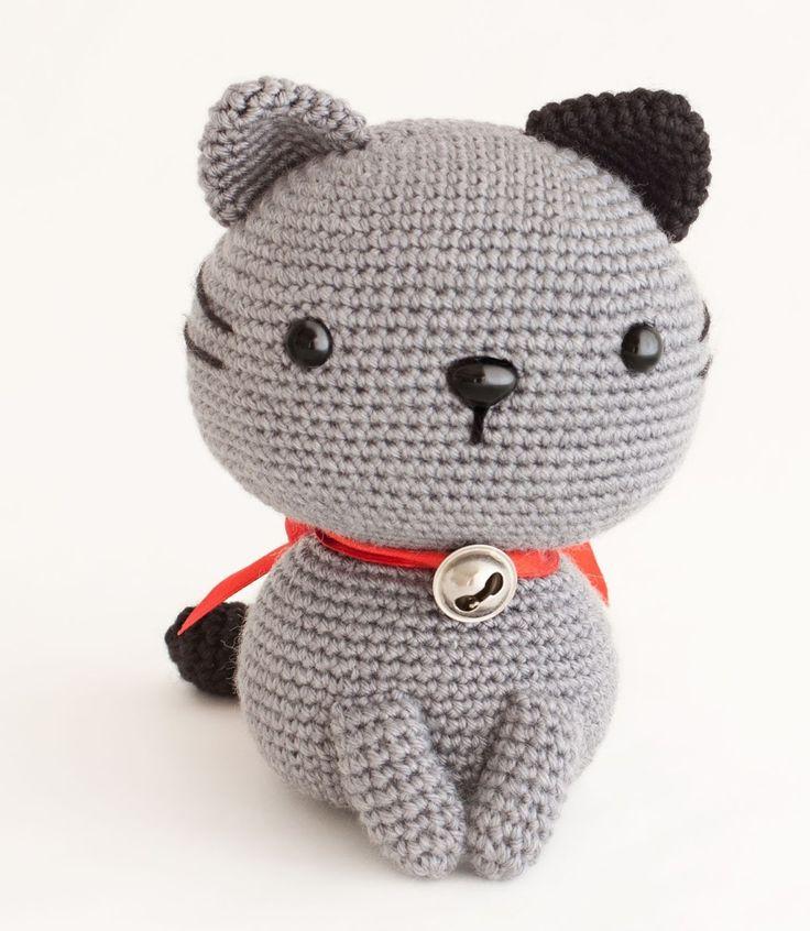 Diese süße Katze häkeln.     Anleitung Kostenlos  Russisch  Online verfügbar     zur Anleitung: Klick Hier  Übersetzt: Klick Hier
