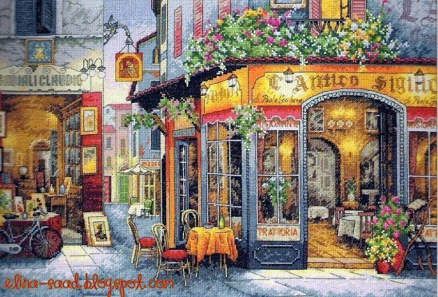Cross Stitch World: Italian Street