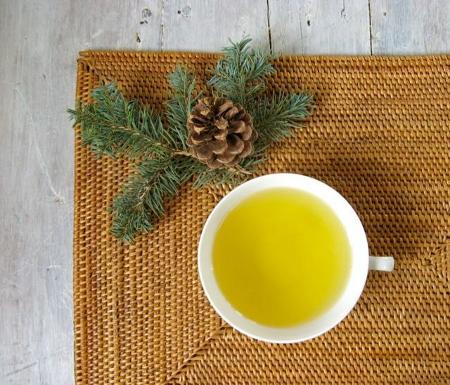 Winter Forest Green Tea, Loose Leaf Tea Blend, 3 oz. Tin, Almond, Orange, Pine Flavor, Tea Lovers Gift, Stocking Stuffer. $14.00, via Etsy.