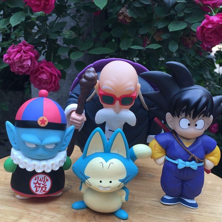 18.20$  Buy here - http://alif1r.shopchina.info/1/go.php?t=32747326093 - 4pcs PVC Figurines Dragon Ball Z Action Figures Dragonball Z Figure Son Goku Pilaf  Master Roshi Dbz Toys Budokai Tenkaichi 3  #bestbuy