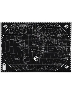 64 best decorative gift wrap sheets images on pinterest gift world map in black white gumiabroncs Choice Image