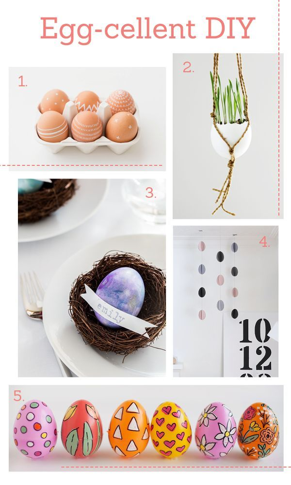 Crafted: Eggcellent DIY ideas. Easter craft.: