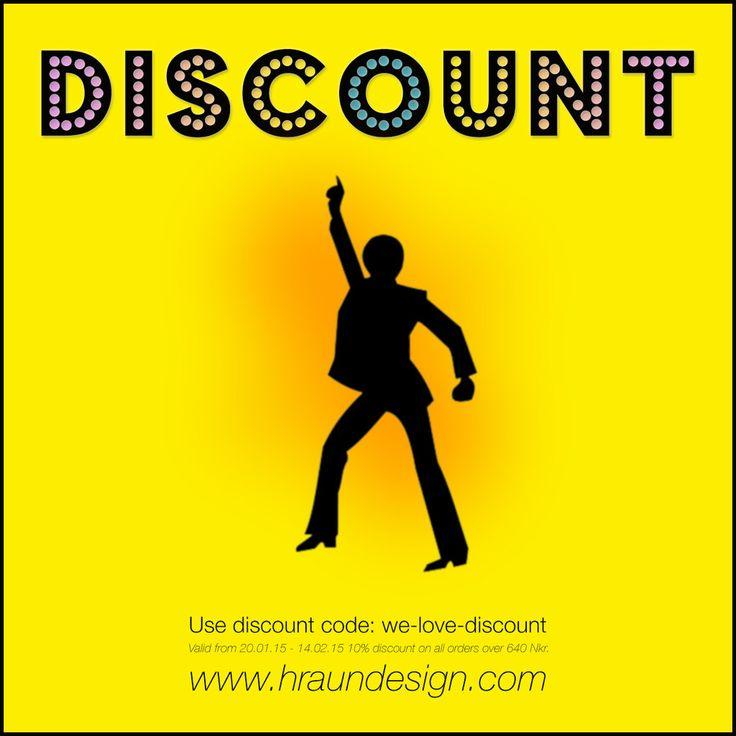 Everybody loves discount – Hraun- Art and design www.hraundesign.com