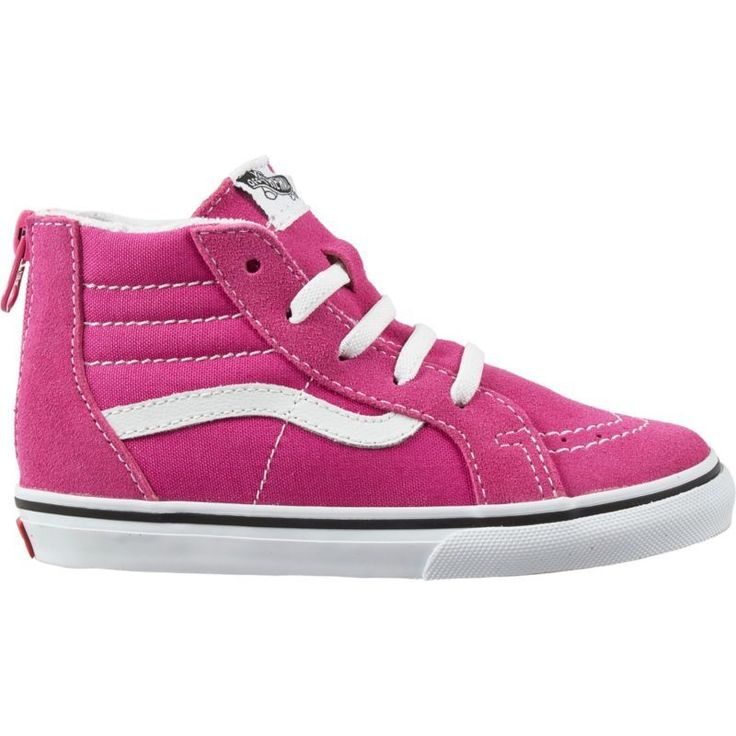 Vans Toddler Sk8-Hi Zip Shoes, Toddler Boy's, Pink