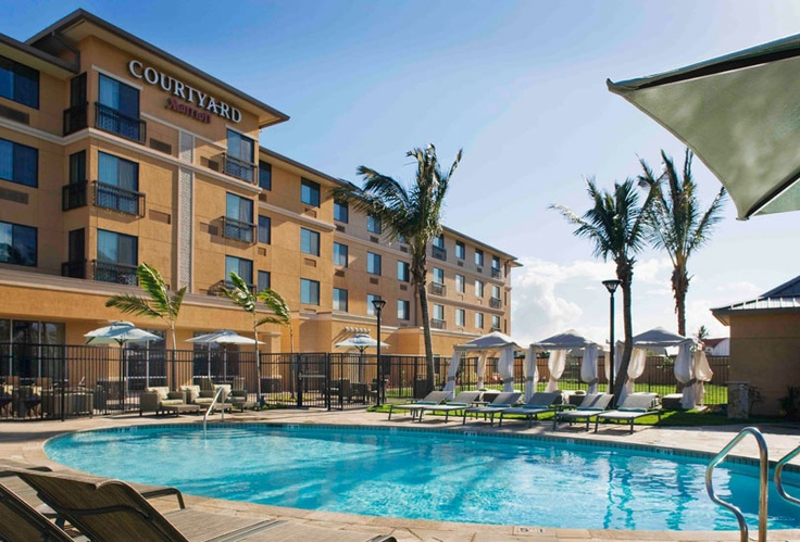 Maui Airport Hotel ~ Courtyard by Marriott