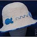 Le chapeau d'été de mathis