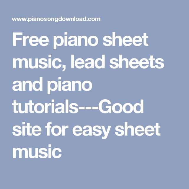 1000 Ideas About Easy Piano Songs On Pinterest: 1000+ Ideas About Easy Piano Songs On Pinterest