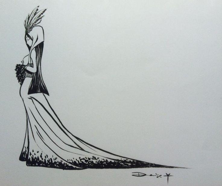 Art From Denise R. Artworks Link: https://www.facebook.com/DeniseR.Artworks Inktober Day 4