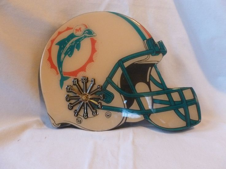 Vintage Miami Dolphins Football Decorative Helmet Wall ...