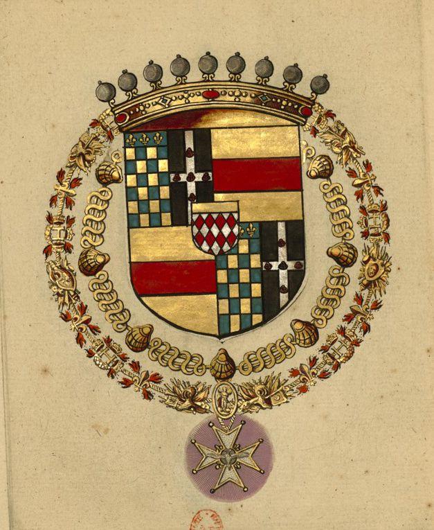 Armoiries de Claude de SANT-SIMON