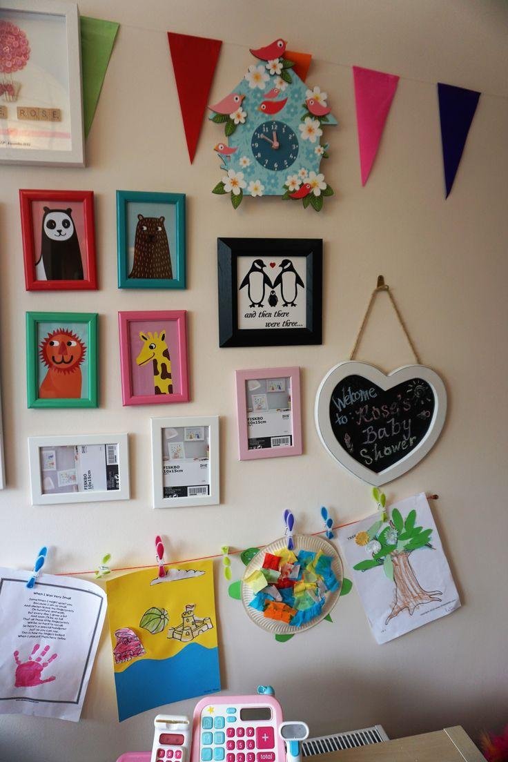 Childrens Artist wall