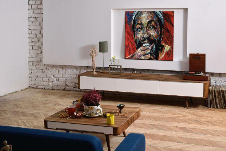 Ena Sofa, Ena Club Table and Ena TV Sideboard