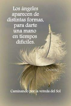 Los ángeles aparecen de distintas formas, para darte la mano en tiempos difíciles... Comparte con tus amigos, compártelas ahora mismo, tarjetitas onfdapix..