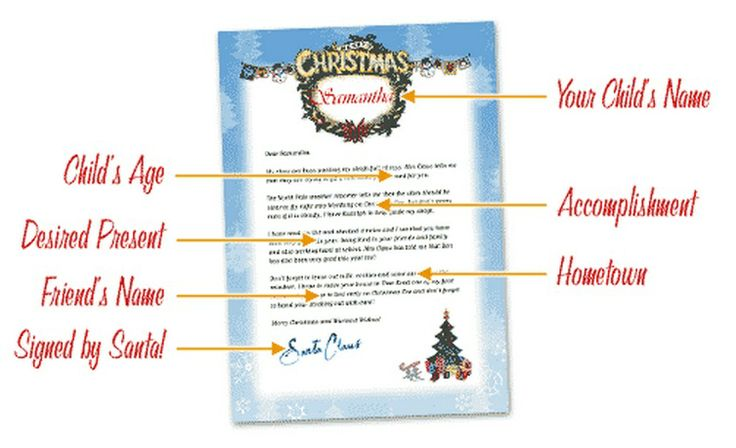FREE Personalized Letter From Santa! | Christmas | Pinterest
