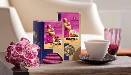 #Ingwer Frucht-Tee #SONNENTOR #Tee