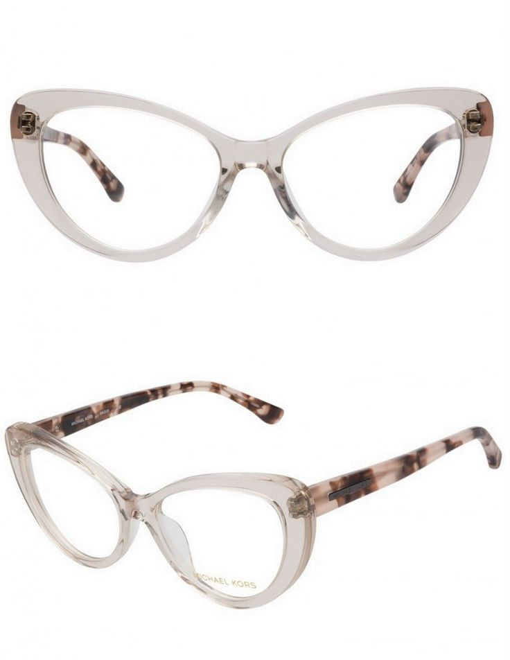 My New Michael Kors Clear Cat Eye Glasses from Coastal.com