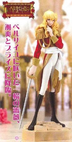 Rose of Versailles Premium Figure: Oscar Francois de Jarjayes Red Ver.