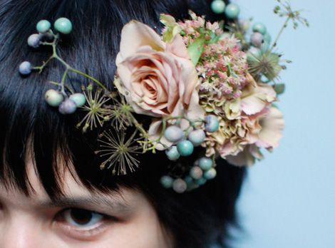 Flower crownHair Piece, Colors Flower, Hair Flower, Flower Headbands, Hair Style, Fresh Flower, Floral Headpieces, Flower Headpieces, Floral Hair