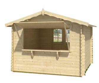 Oltre 25 fantastiche idee su casette da giardino su pinterest capannoni all 39 aperto capannone - Casette mobili in legno ...