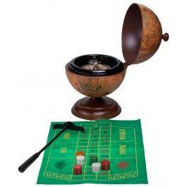 Lasa destinul sa aleaga rosu sau negru in locul lui cu un cadou distractiv pentru seful balanta, un glob de birou cu ruleta
