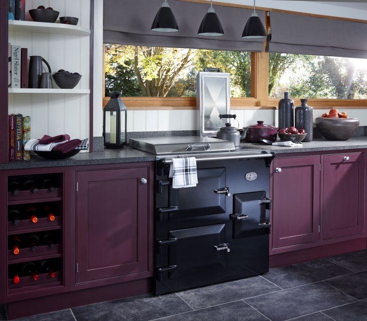 EVH 90+ Everhot Electric Range Cooker in Black