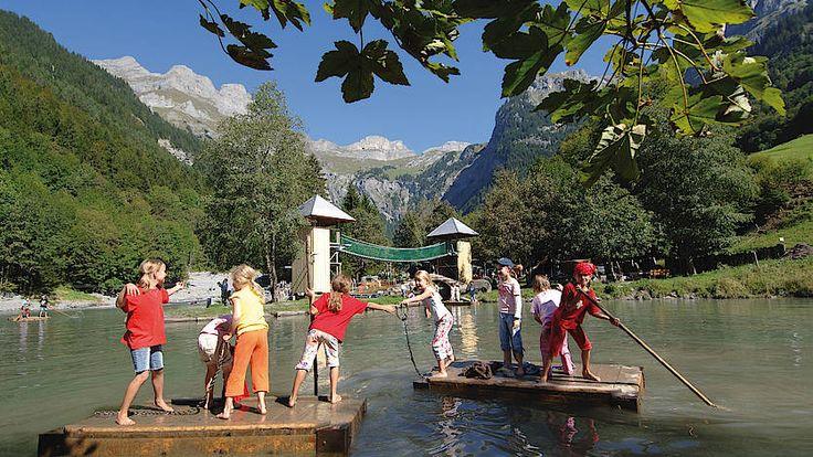 Engelberg-Titlis:Kinderspielplätze/Robinson-Spielplatz Grotzenwäldli