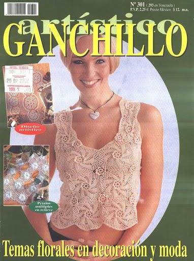 Ganchillo Artístico nº301