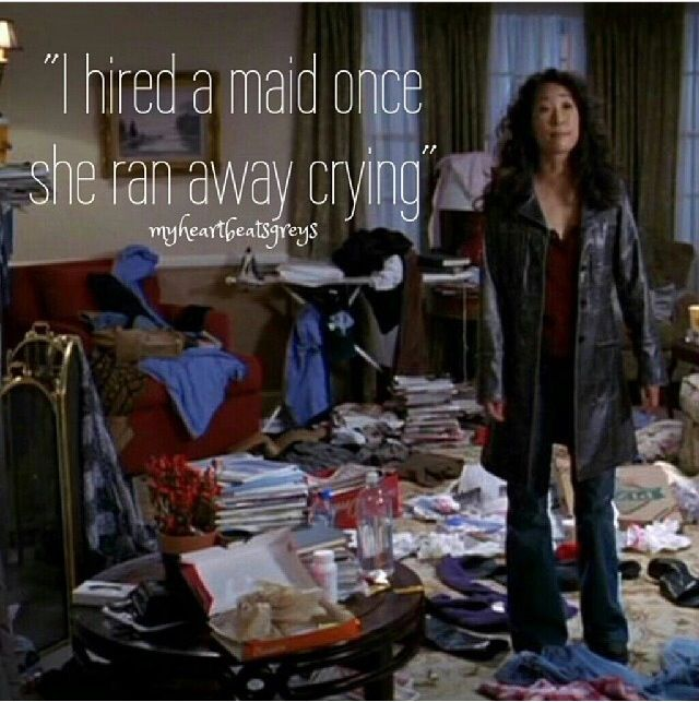 Grey's Anatomy. Cristina. Or me. Yep definitely me....