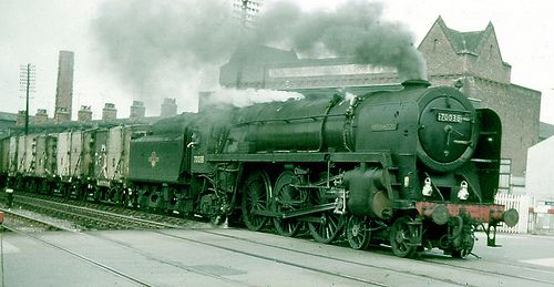 Britannia 4-6-2 70038, Grimsby, Early 1960s