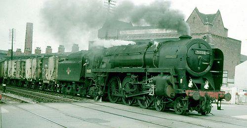 Britannia 4-6-2 70038, Grimsby, Early 1960s