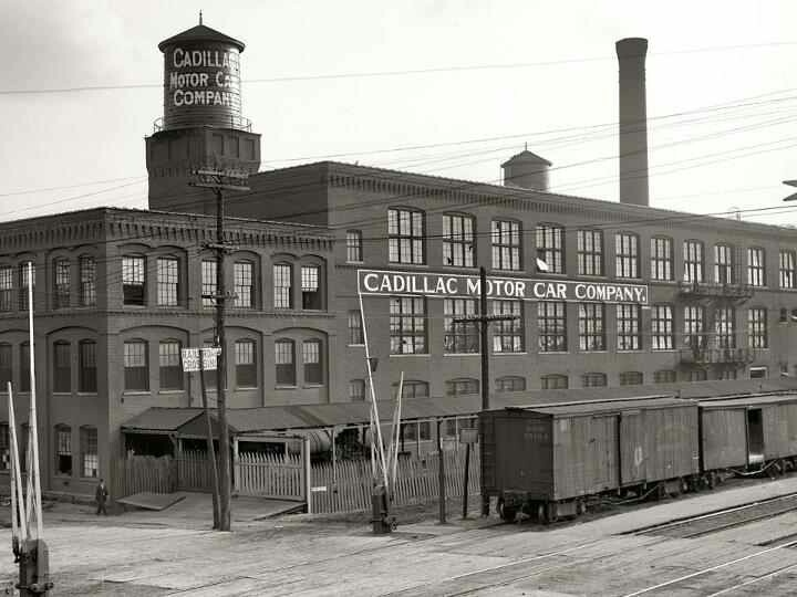 The factory where I work with Stan, the Cadillac Motor Car Company