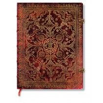 """Gorgeous """"Carmine"""" journal. The perfect diary for a wonderfull life! If I had such a diary, I would write every day!"""