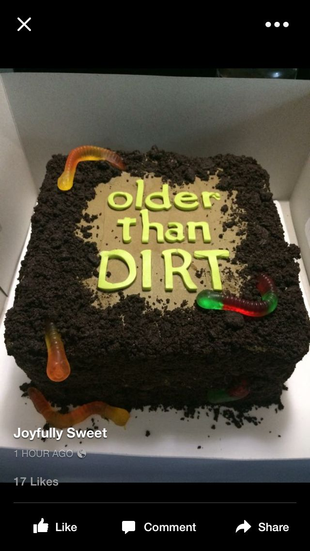 Over the hill cake- Diana Webster- what do you think for dad this year?