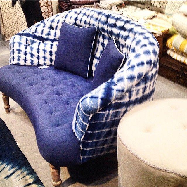 shibori couch