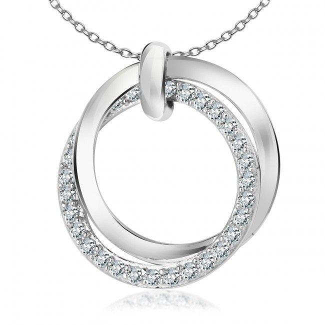Srebrna Zawieszka z cyrkoniami, 59,40 PLN, www.Bejewel.me/srebrna-zawieszka-z-cyrkonia #jewellery #silver #bejewelme #bjwlme #shoponline #accesories #pretty #style