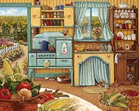 Country Kitchen Puzzle - 1000 Piece Puzzle - White Mountain Puzzles