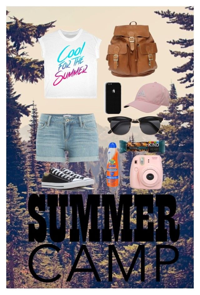 """""""⛺️⛺️"""" by ashley9044 ❤ liked on Polyvore featuring Paige Denim, Converse, adidas, Banana Boat, Fujifilm, summercamp and 60secondstyle"""