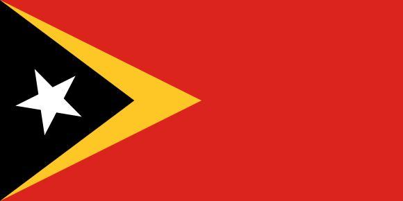 Vlajka Východného Timoru