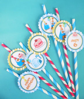 Penguin Birthday Party Printables
