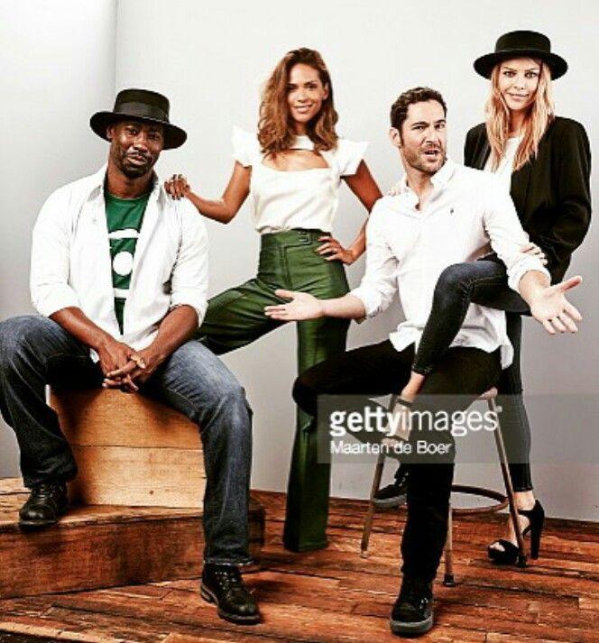 Lucifer Tv Show: 155 Best Actor~Tom Ellis/Lucifer On FOX & Cast Images On