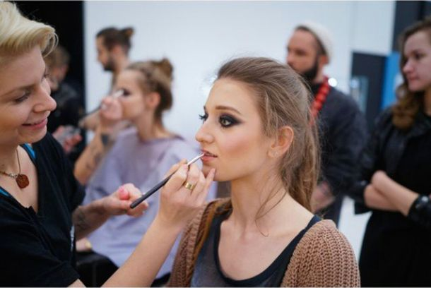 Diana / Project Runway backstage