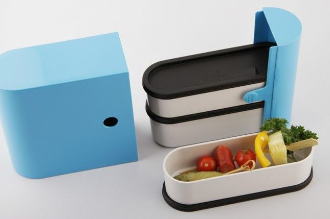 Bento Colors: This stylish version of the traditional bento box allows you to separate each component of your meal while rocking your favorite color.
